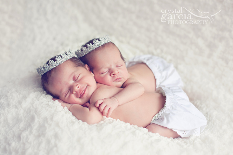 Newborn Twin Girls! » Crystal Garcia Photography